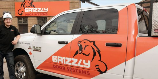 port_Grizzly_marketing_van